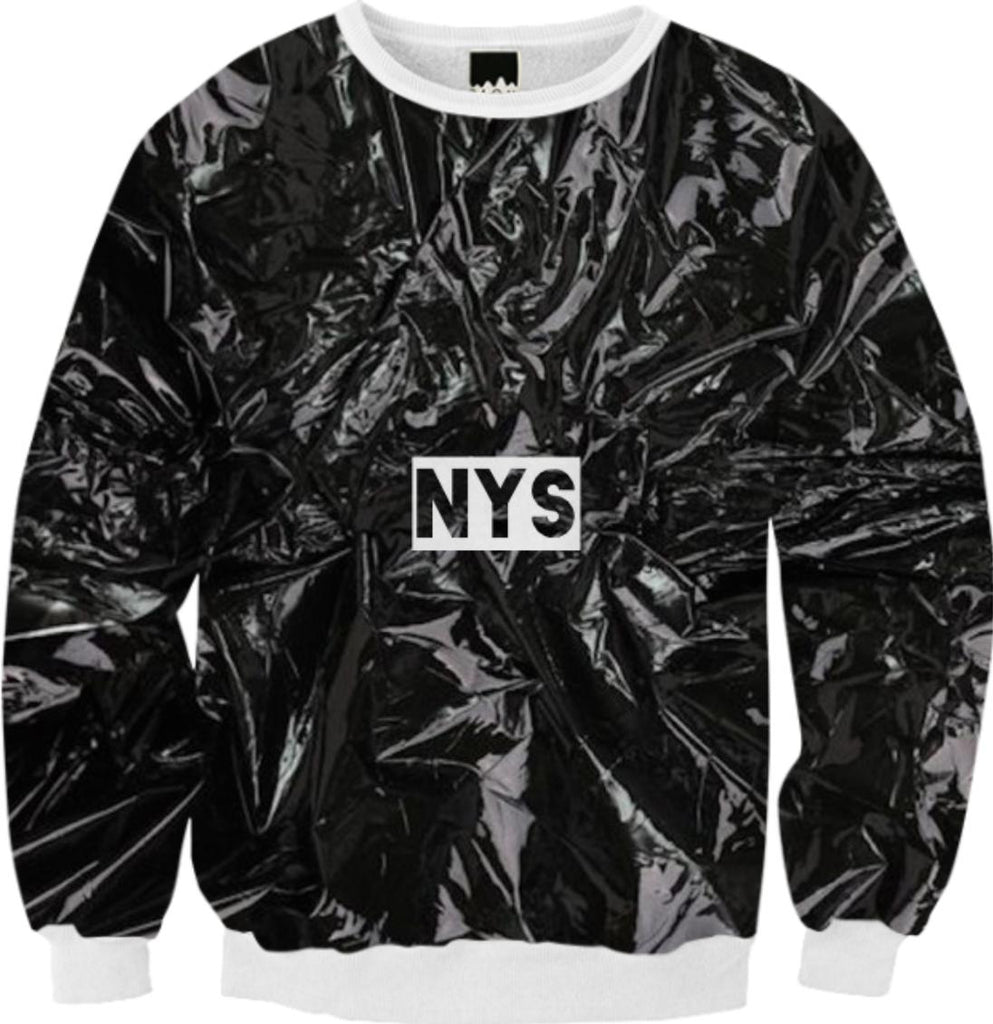 New York Strangers Garbage Bag Sweater