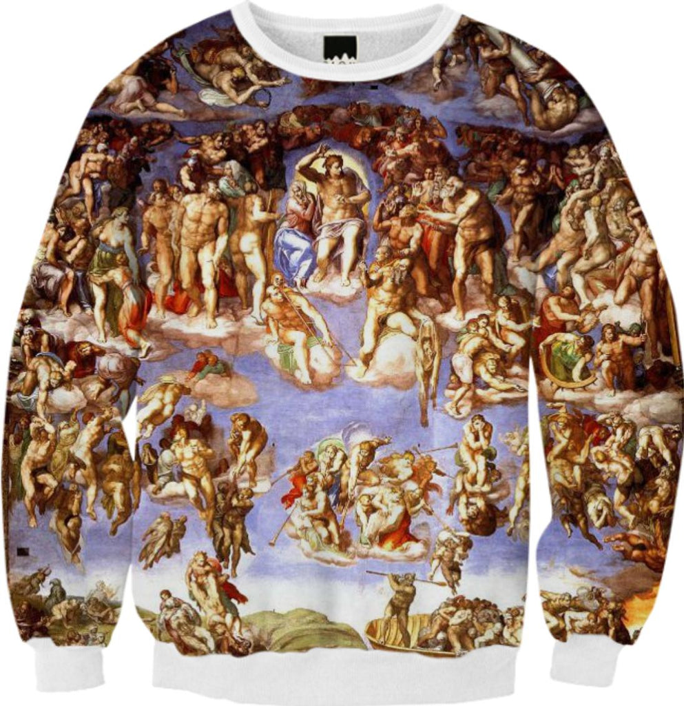 The last judgement Pullover