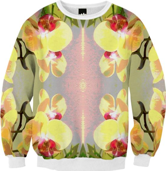 Yellow Orchid Pattern