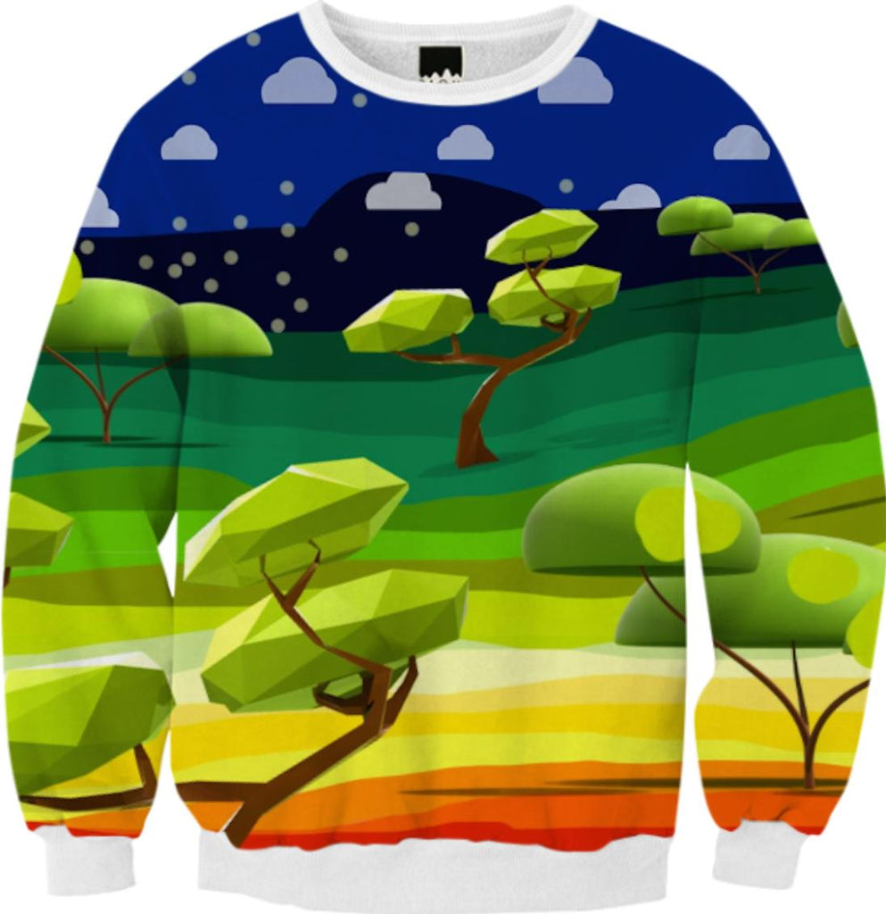 ZOYZ ORIGAMI FOREST sweater