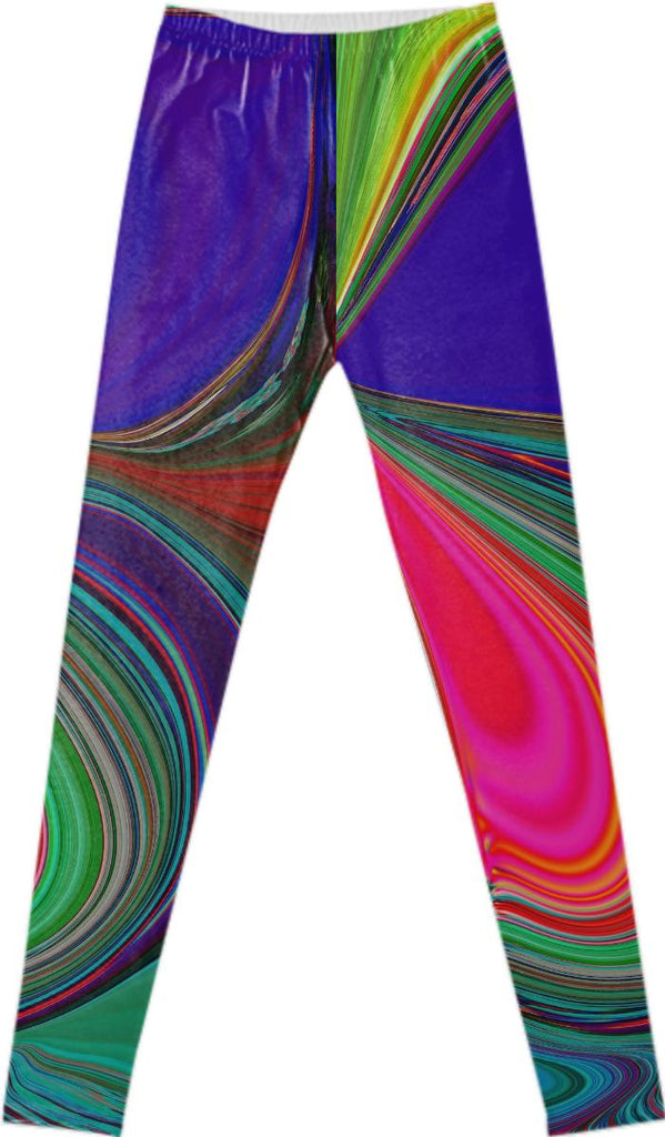 Colour squeeze legging