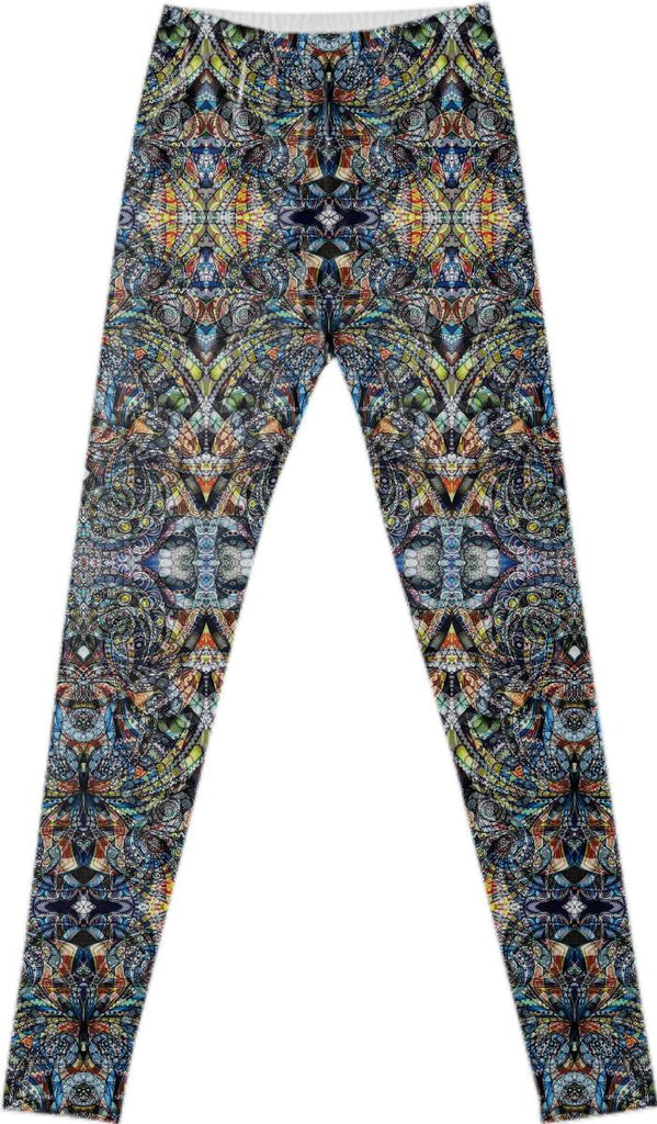 FANCY LEGGINGS Ethnic Style G40
