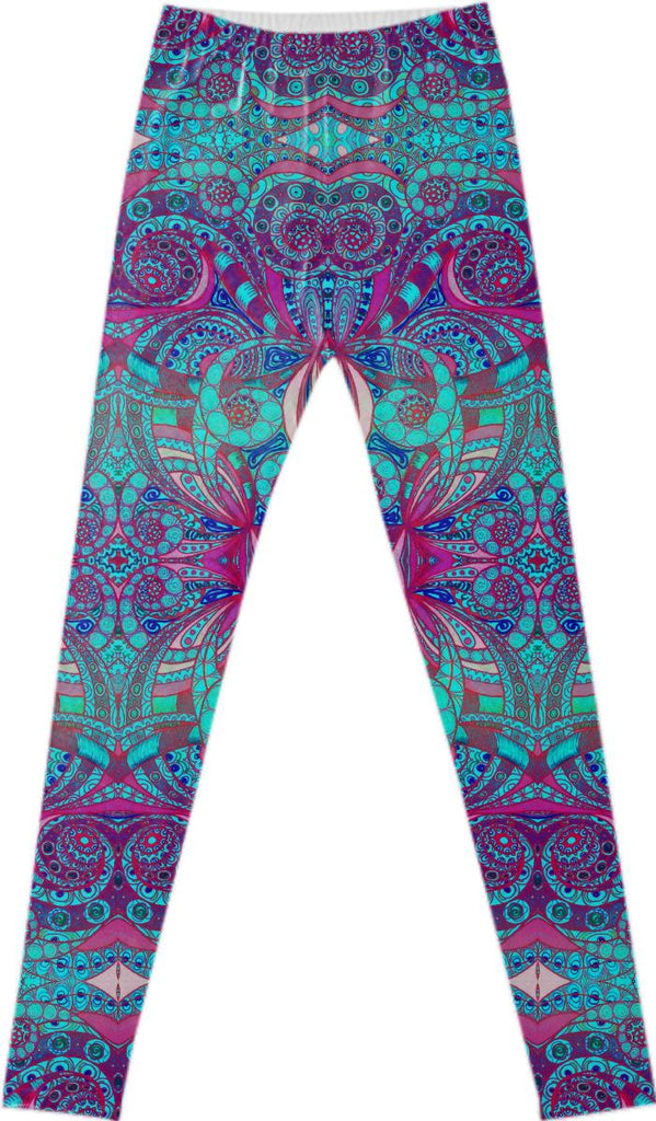FANCY LEGGINGS Ethnic Style G48