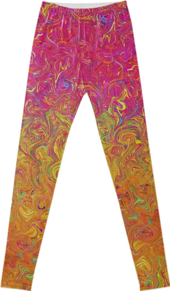 FANCY LEGGINGS Fluid Colors G27