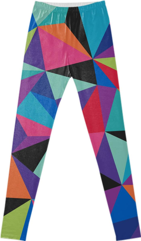 GEO POP FANCY LEGGINGS