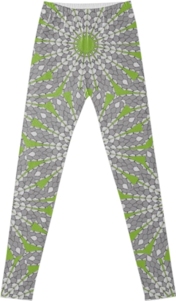 Mosaic Scales Leggings by Dovetail Designs