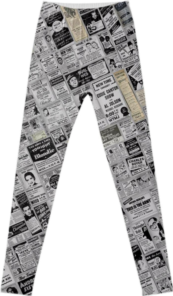 Old News Leggings