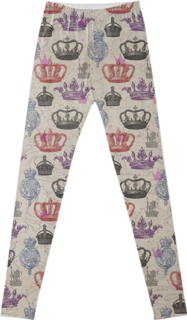 Regal Pattern Leggings