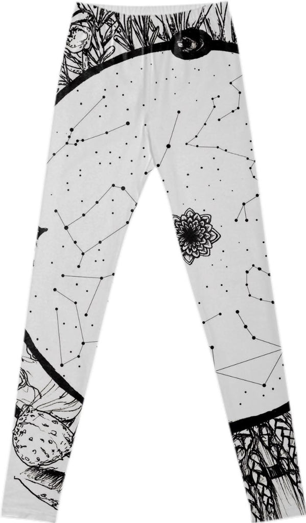 Wheel of the Year Leggings