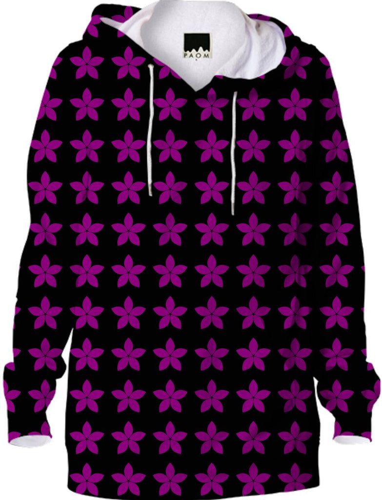Black and Purple Star Hoodie