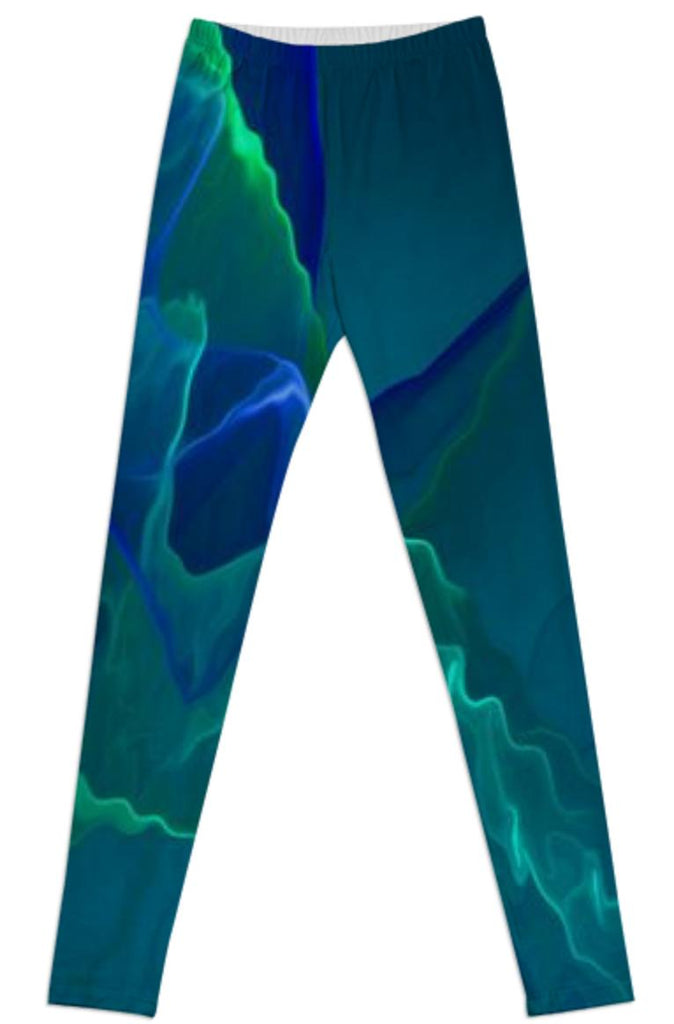 Abstract night LEGGINGS