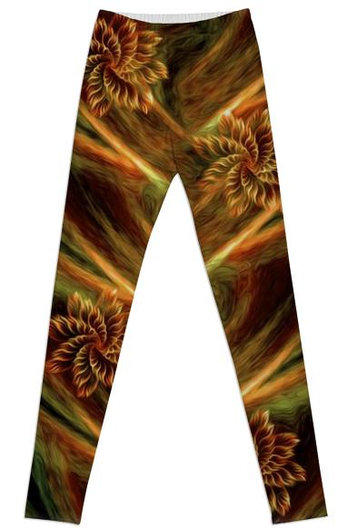 Floral flow LEGGINGS
