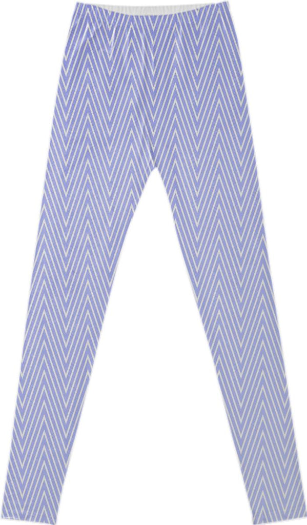 Light blue chevron pattern