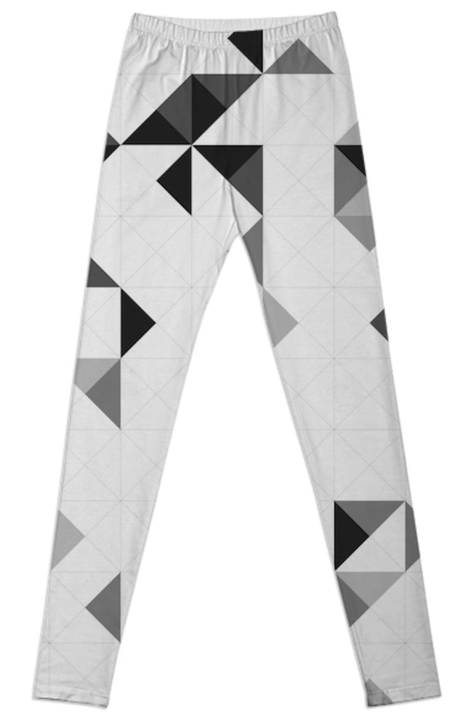 PAOM, Print All Over Me, digital print, design, fashion, style, collaboration, various-projects, various projects, Leggings, Leggings, Leggings, OLAF, NICOLAI, GREYSCALE, PATTERN, autumn winter spring summer, unisex, Spandex, Bottoms