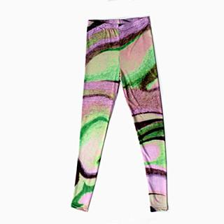 PAOM, Print All Over Me, digital print, design, fashion, style, collaboration, degen, Leggings, Leggings, Leggings, Purple, Cloud, autumn winter spring summer, unisex, Spandex, Bottoms