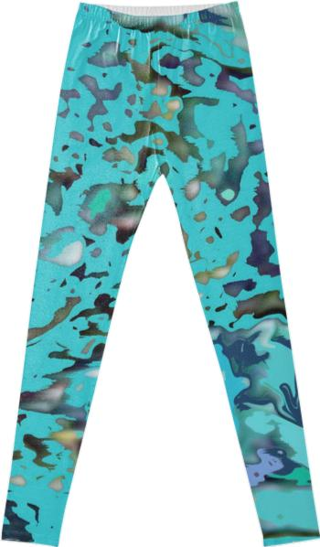 Turquoise Delight Leggings