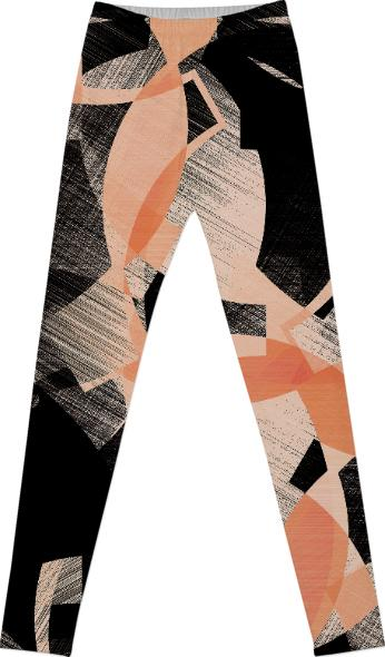 CUBIST FLOWER LEGGINGS