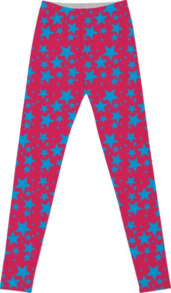 The Stars Have It Leggings