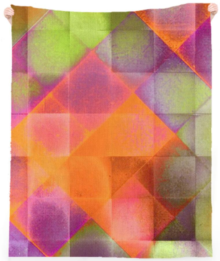 CHECKED DESIGN II v8 Beach Towel 1