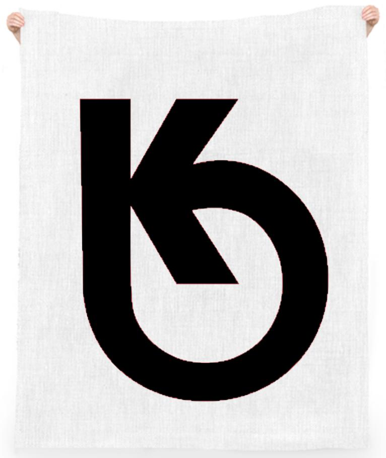 KHARMA LOGO BEACH TOWEL