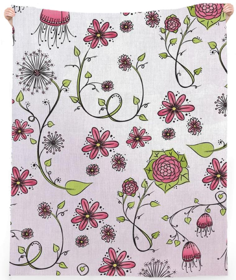 Pink on pink Flower pattern