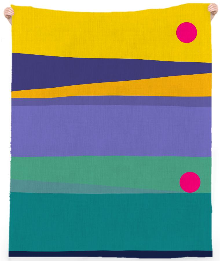 Twilight Stripes Towel