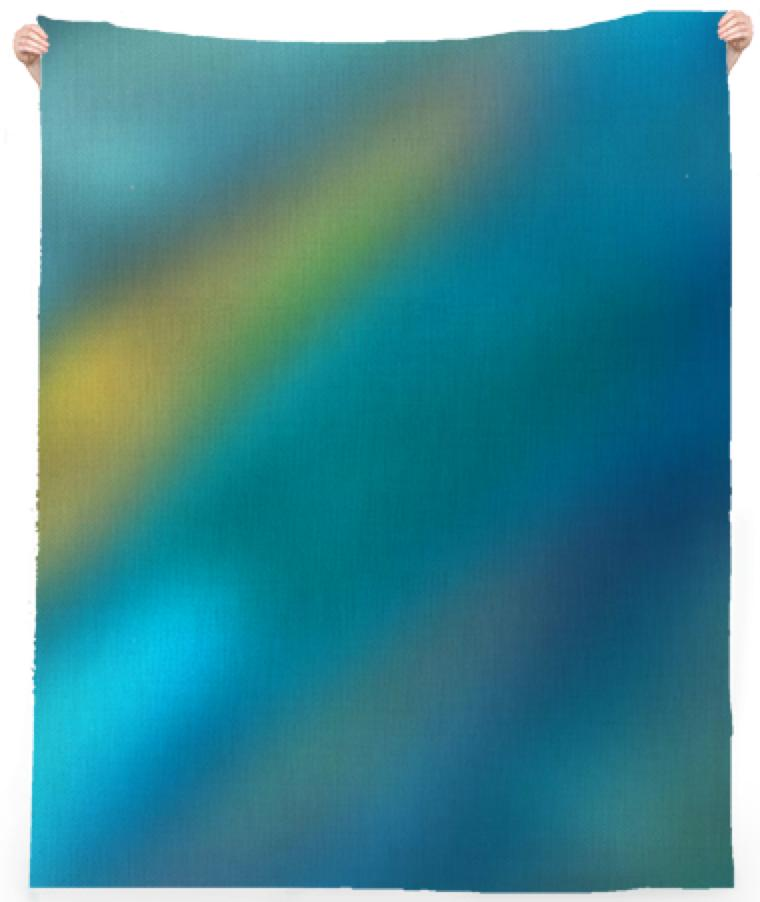 Watery Depths Beach Towel