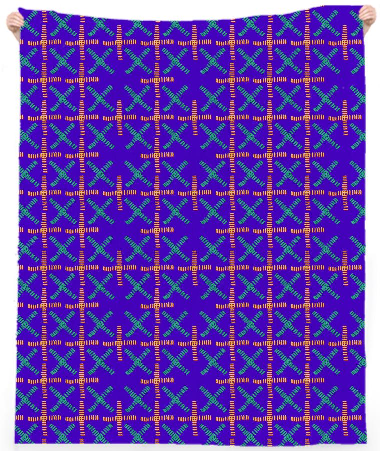 X Grid Towel