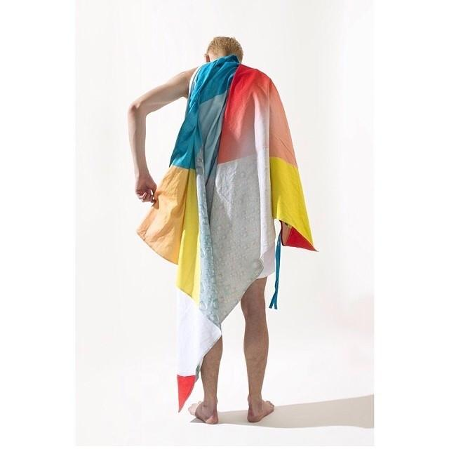 PAOM, Print All Over Me, digital print, design, fashion, style, collaboration, wax-magazine, wax magazine, Linen Beach Throw, Linen-Beach-Throw, LinenBeachThrow, WAX, Magazine, Towel, spring summer, unisex, Linen, Home