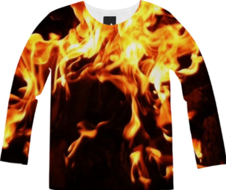 Campfire Long Sleeve Tee