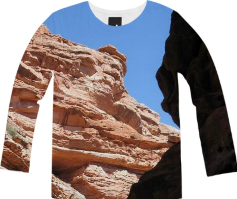 Canyon Shadow Long Sleeve Tee
