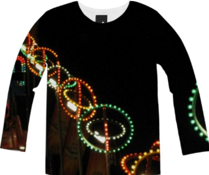 Carnival Lights Long Sleeve Tee