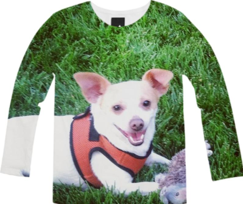 Rescue Dog Long Sleeve Tee
