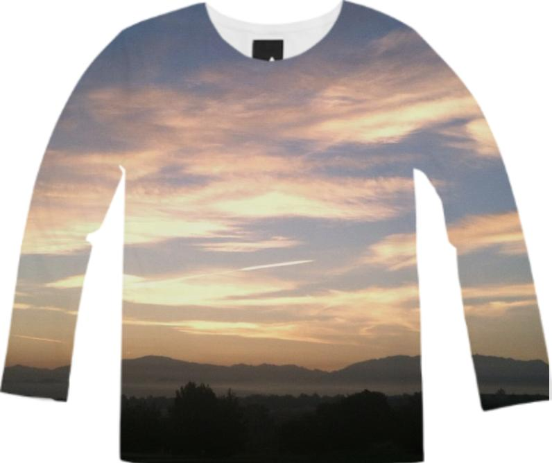 Sunrise Over Santa Clarita Long Sleeve Tee