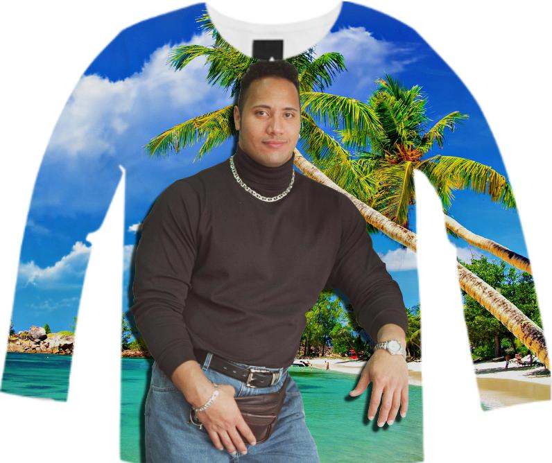 Tropical Dwayne Long Sleeve