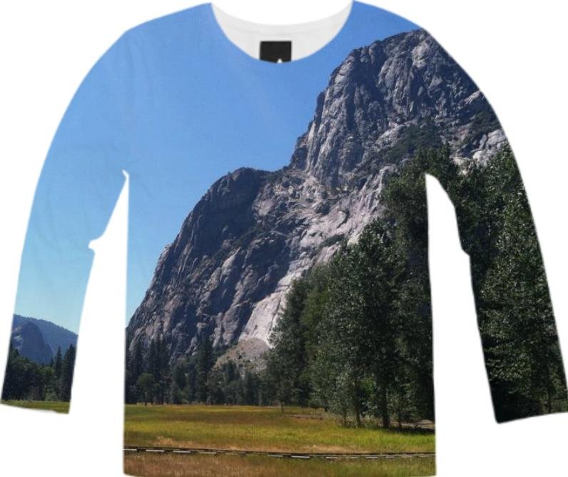 Yosemite Valley Long Sleeve Tee