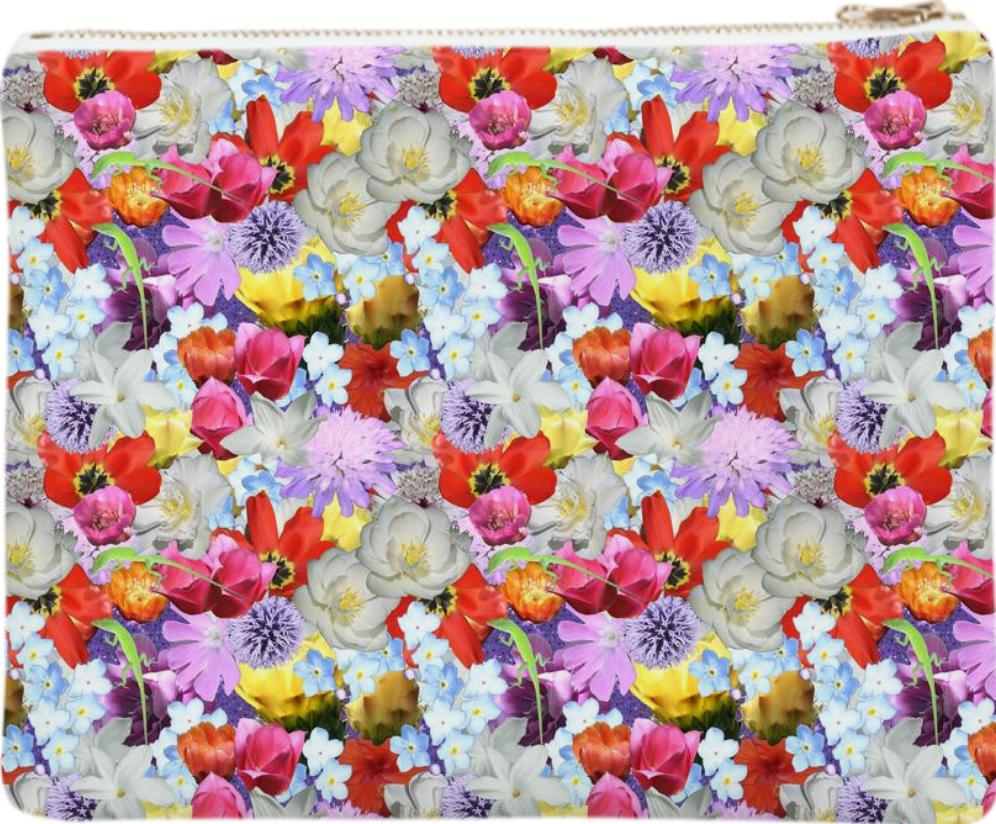 Every Flower Covered Clutch