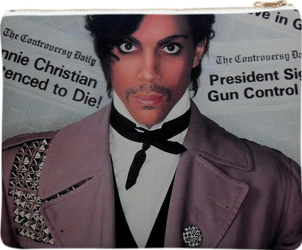 Prince Controversy Neoprene Clutch