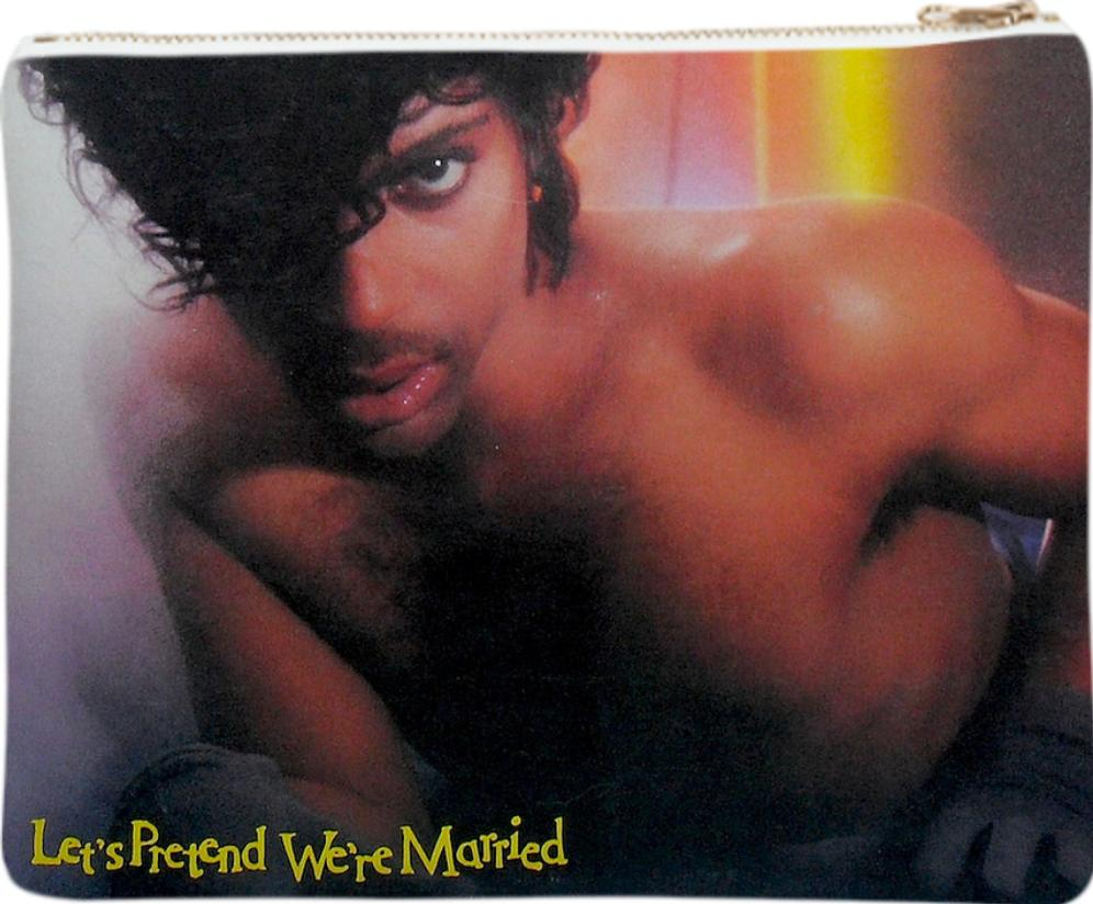Prince Lets Pretend We re Married Neoprene Clutch