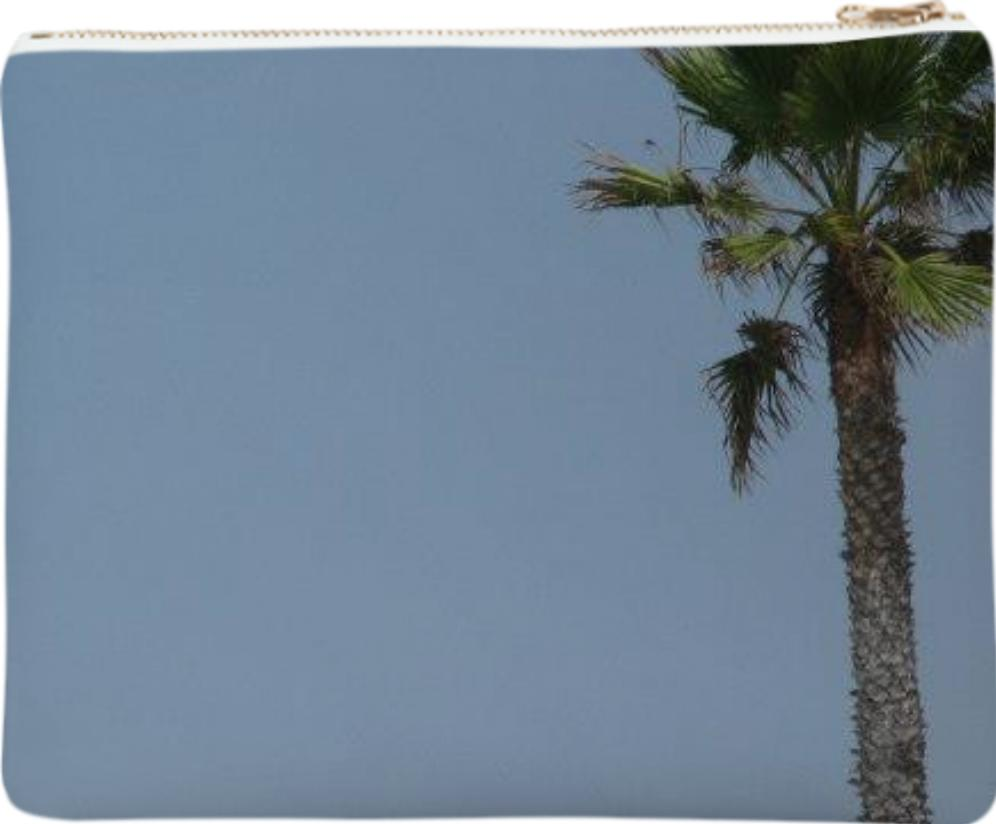 Santa Monica Palm Tree Clutch