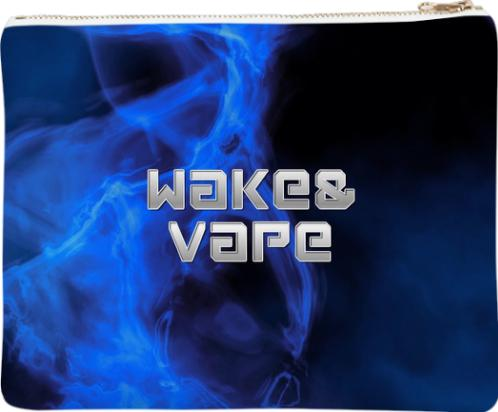 Wake Vape Blue Smoke Neoprene Clutch