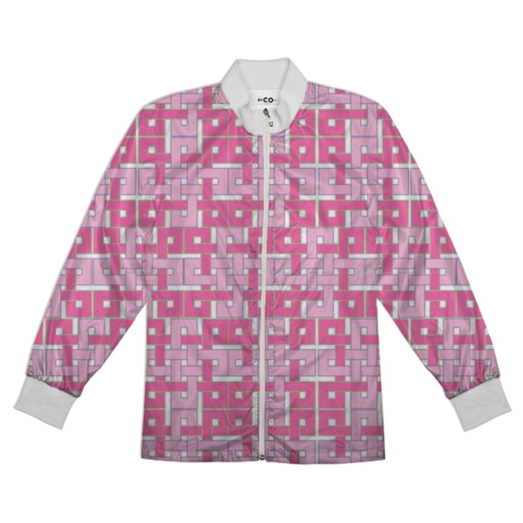Celtic Square in Pink Tracksuit Jacket