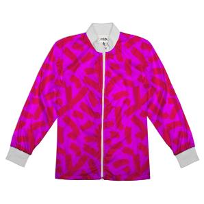 Neon Pink Cheesedoodles Track Jacket