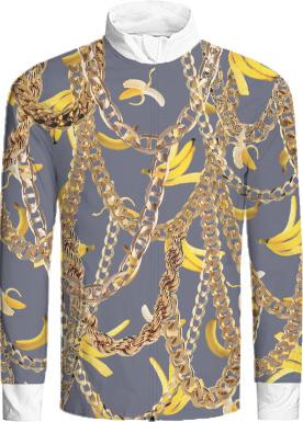 Banana Chainz Gold jacket