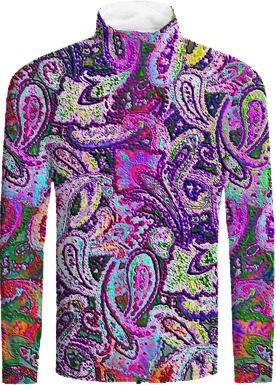Plain Purple Paisley