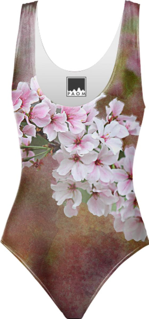 Cherry Blossom Branch Swimsuit