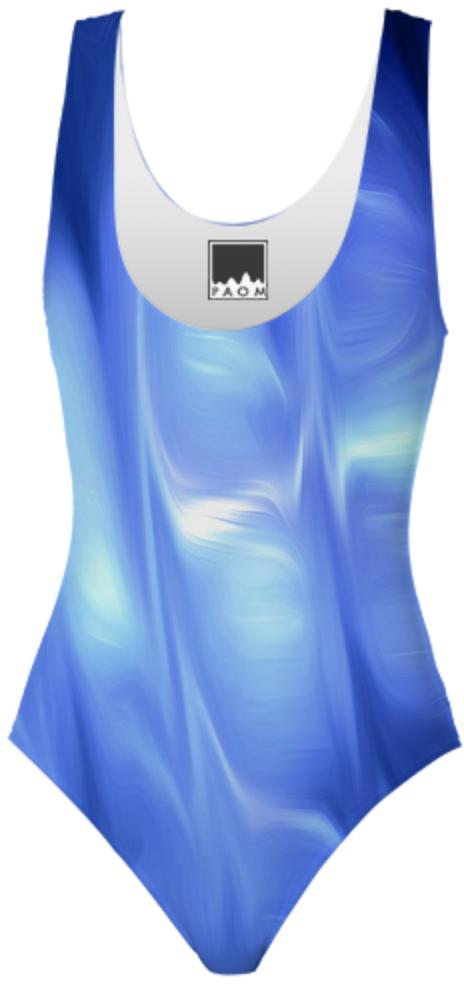 Ice cave ONE PIECE SWIMSUIT