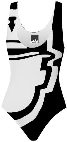 Lavish King Customs Logo Swimsuit