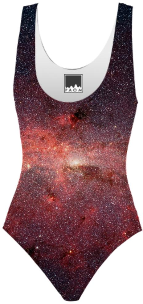 Pink Galaxy Swimsuit