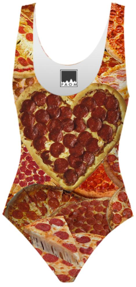 Pizza leotard